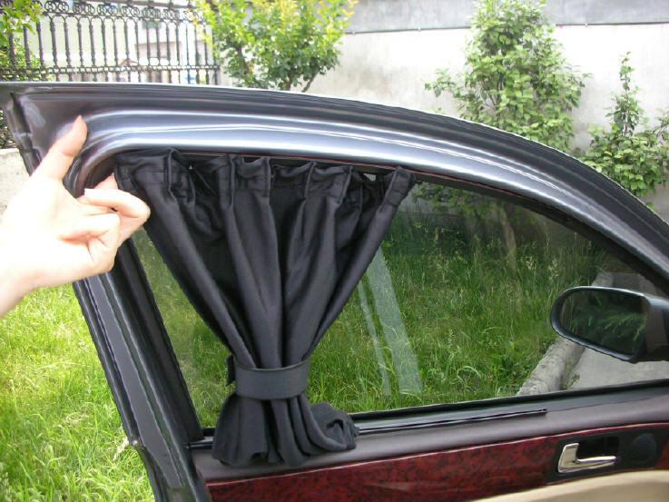Штраф за шторки на передних стеклах