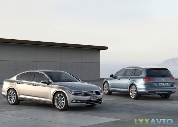 Картинки Volkswagen Passat B8 2015 2016