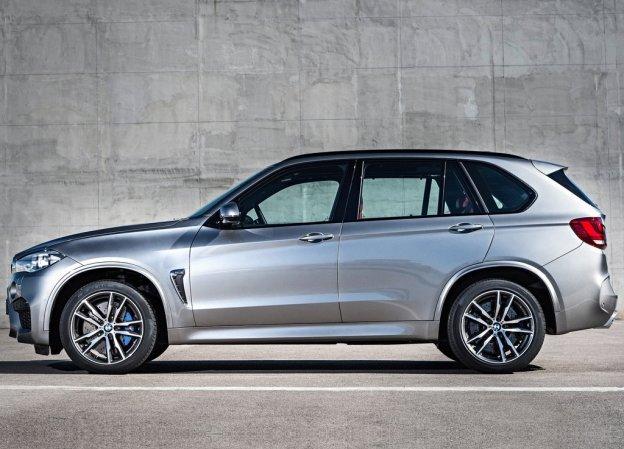 BMW X5M 2015-2016 фото сбоку