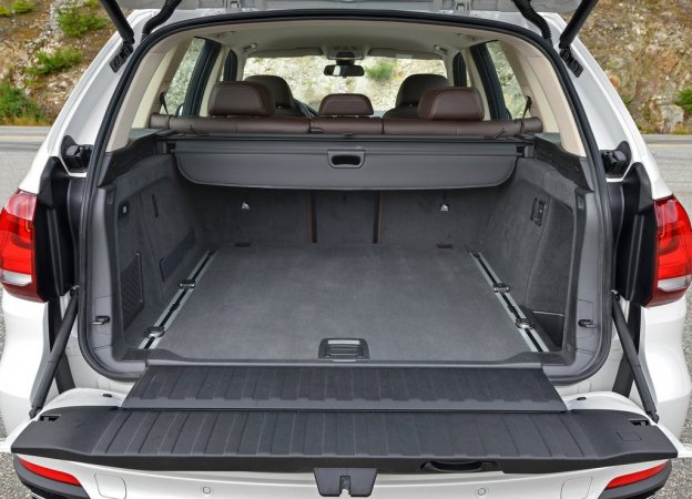 Фотография багажника BMW X5 2015-2016