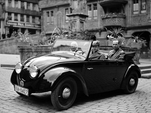 Volkswagen Versuchswagen V2 Prototype. 1935 год