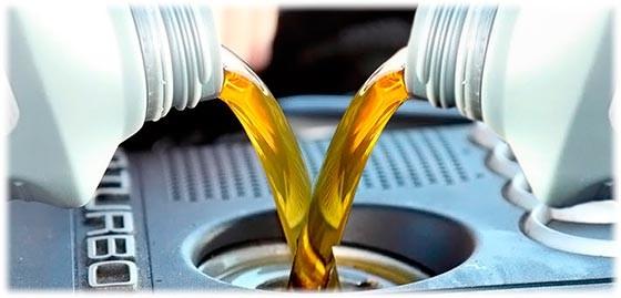 Использование моторного масла