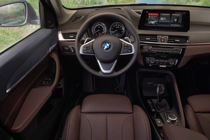 Салон BMW X1 2019