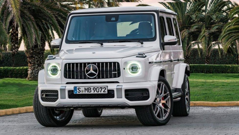 Лучший немецкий внедорожник Mercedes-Benz AMG G-Class