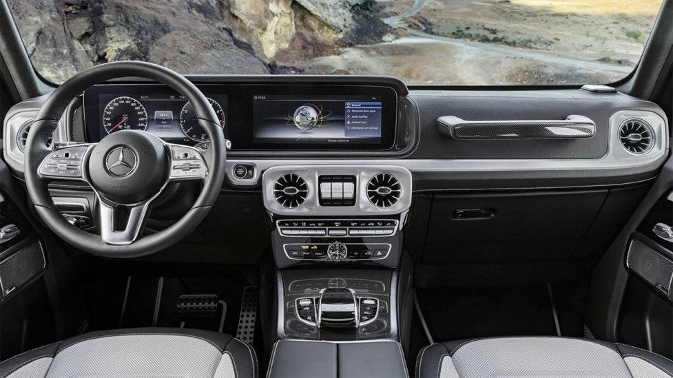 Интерьер Mercedes-Benz AMG G-Class
