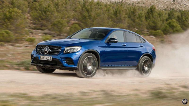 Mercedes GLC тест