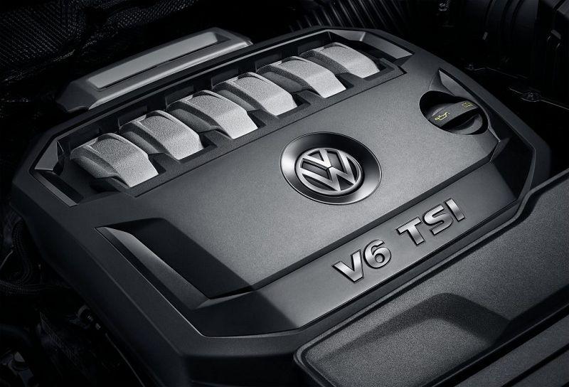 Двигатель Volkswagen Teramont 2019