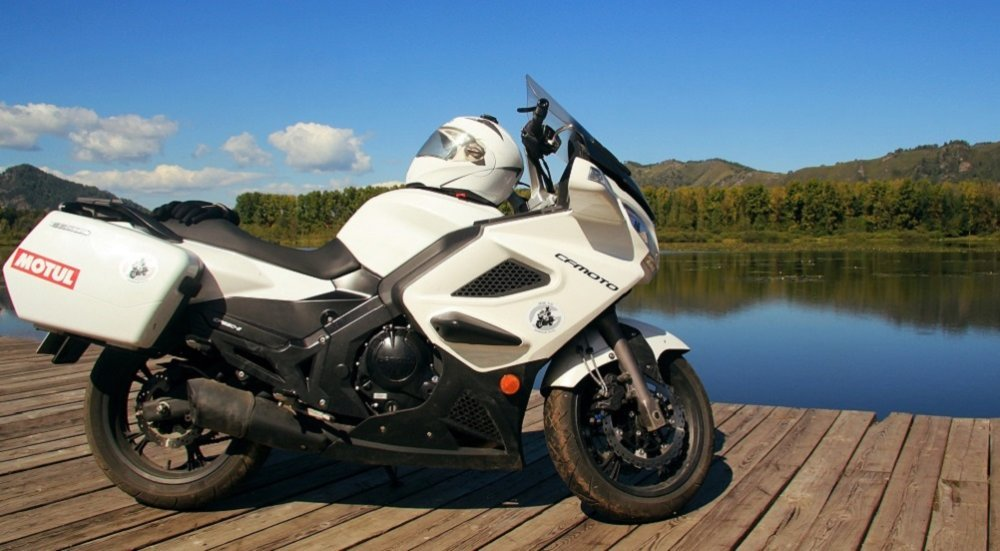 Один из лучших мотоциклов в мире CF-Moto 650 TK