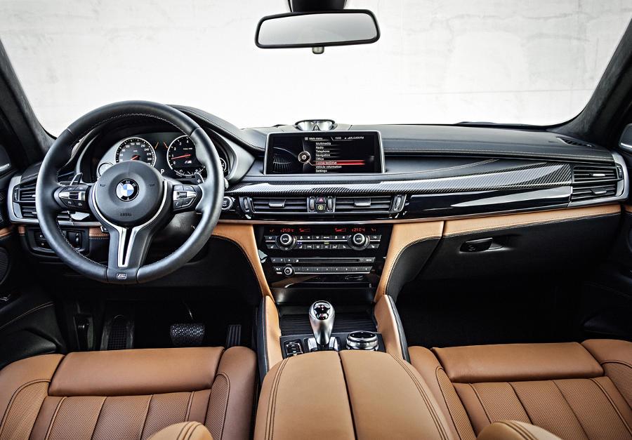 салон BMW X6 M 2015 года